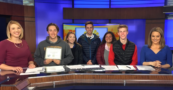 Cheverus Students Placed 2nd in WGME School Spirit Challenge