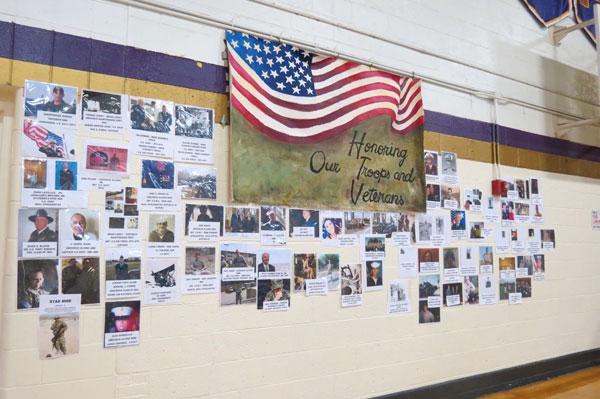 Homefront Club Honors Veterans