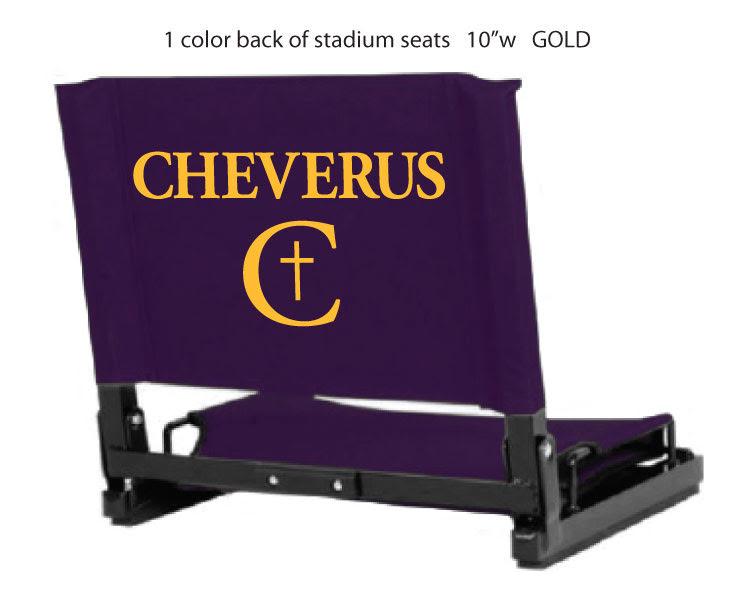 Stadium Chairs -- $45